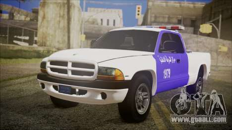 Dodge Dakota Iraqi Police for GTA San Andreas