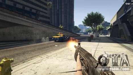 GTA 5 Gears of War Lancer 1.0.0 second screenshot