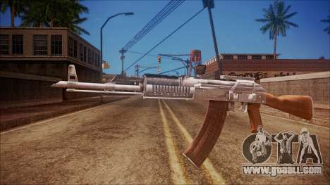 AK-47 v4 from Battlefield Hardline for GTA San Andreas