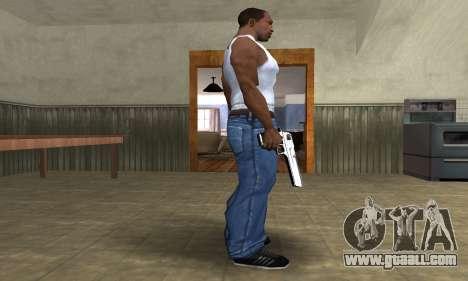 Flacon Deagle for GTA San Andreas second screenshot