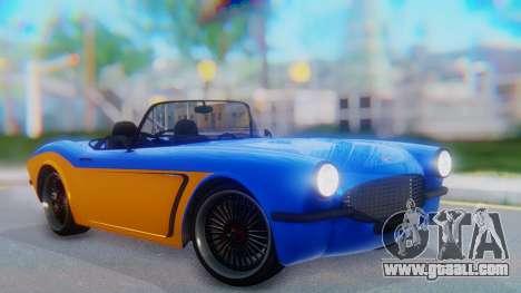 Invetero Coquette BlackFin v2 SA Plate for GTA San Andreas