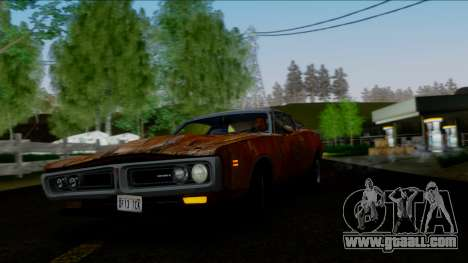 Dodge Charger Super Bee 426 Hemi (WS23) 1971 IVF for GTA San Andreas interior