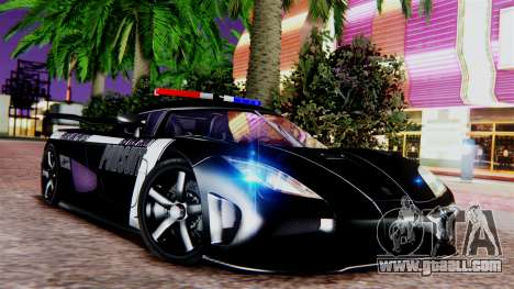 NFS Rivals Koenigsegg Agera R v2.0 for GTA San Andreas