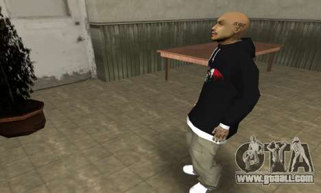 Rifa Skin First for GTA San Andreas forth screenshot