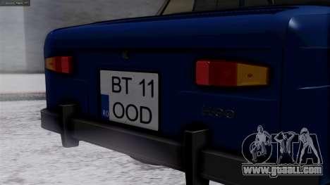 Dacia 1100 for GTA San Andreas back view