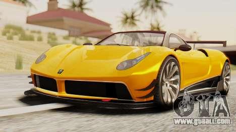 Pegassi Osyra Full Extras for GTA San Andreas