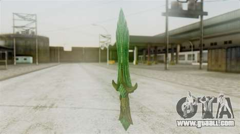 Glass Dagger for GTA San Andreas