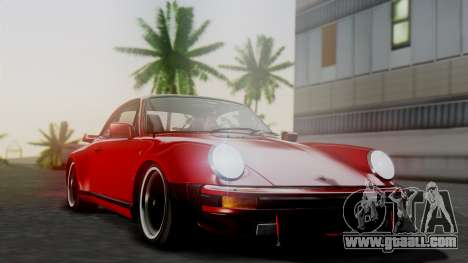 Porsche 911 Turbo (930) 1985 Kit A for GTA San Andreas upper view