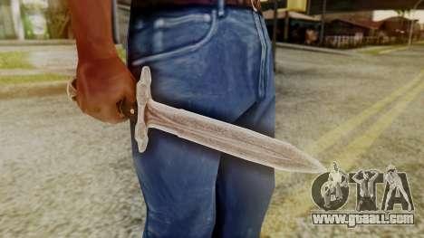 Iron Dagger for GTA San Andreas second screenshot