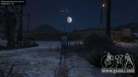 Majoras Mask Moon for GTA 5