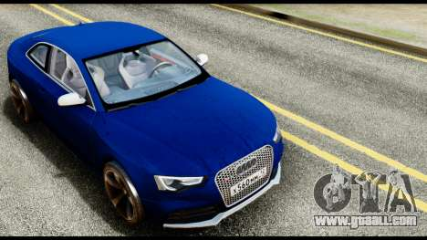 Audi RS5 2012 for GTA San Andreas