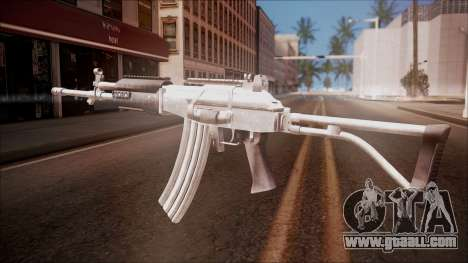 Galil AR v1 from Battlefield Hardline for GTA San Andreas second screenshot