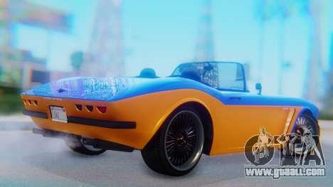 Invetero Coquette BlackFin v2 SA Plate for GTA San Andreas left view