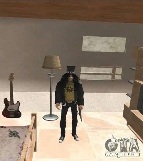 Slash for GTA San Andreas second screenshot