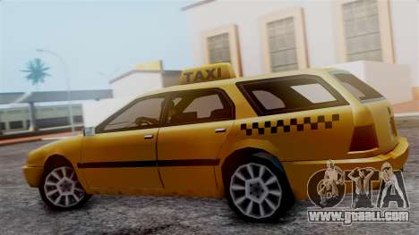 Stratum Taxi for GTA San Andreas back left view
