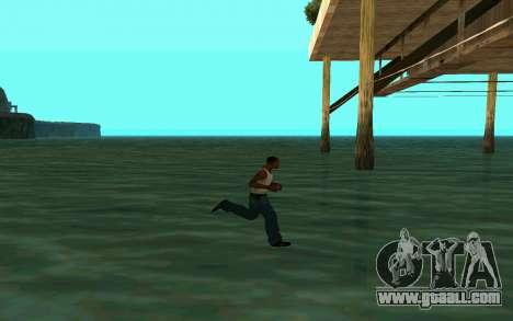 Walking on water for GTA San Andreas forth screenshot