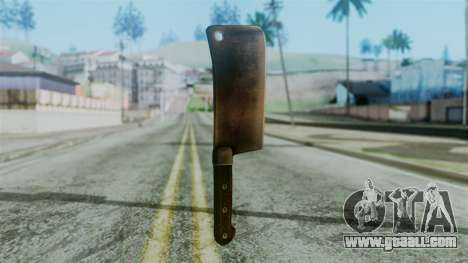 Cleaver from Silent Hill Downpour for GTA San Andreas second screenshot