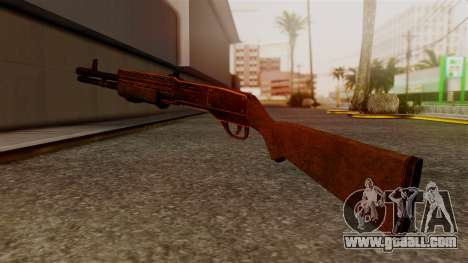 BlueSteel Shotgun for GTA San Andreas second screenshot