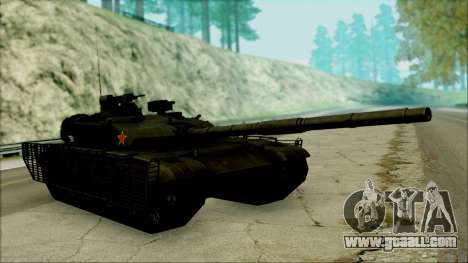 Type 99 BF4 for GTA San Andreas