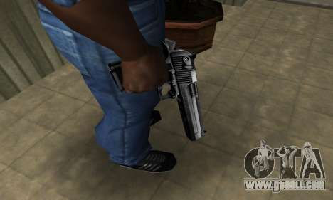 Full Silver Deagle for GTA San Andreas second screenshot