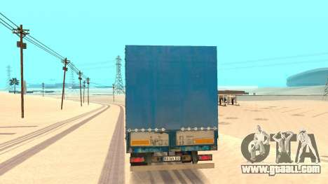 Tilt trailer for GTA San Andreas back left view