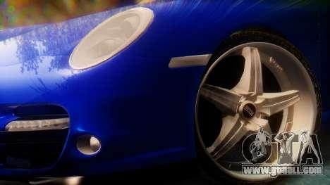 Porsche 911 2010 Cabrio for GTA San Andreas back left view