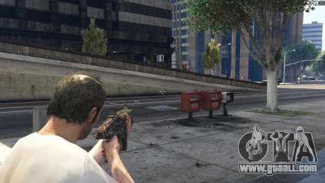 GTA 5 Gears of War Lancer 1.0.0 eighth screenshot