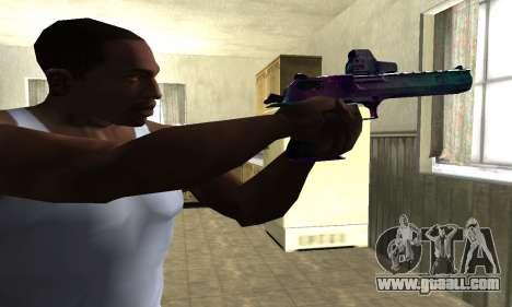 Space Deagle for GTA San Andreas second screenshot
