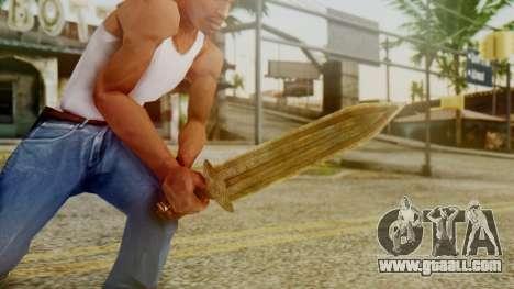 Dwarven Dagger for GTA San Andreas third screenshot