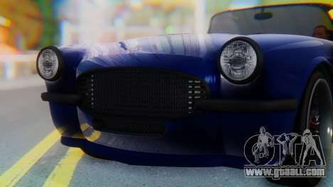 Invetero Coquette BlackFin v2 SA Plate for GTA San Andreas interior