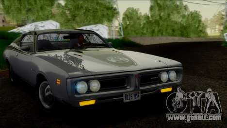 Dodge Charger Super Bee 426 Hemi (WS23) 1971 IVF for GTA San Andreas right view
