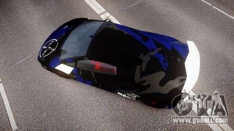 Lamborghini Sesto Elemento 2011 for GTA 4 right view