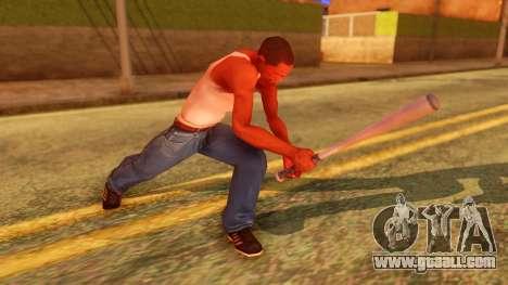 Atmosphere Baseball Bat for GTA San Andreas third screenshot