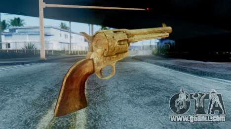 Red Dead Redemption Revolver Cattleman Sergio for GTA San Andreas second screenshot