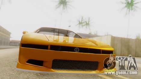 Infernus BMW Revolution with Spoiler for GTA San Andreas