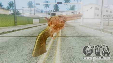 Red Dead Redemption Revolver Diego Nueva for GTA San Andreas second screenshot