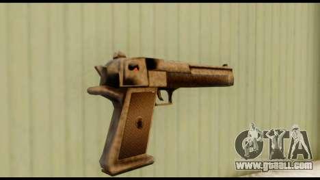 Desert Eagle v0.8 for GTA San Andreas second screenshot