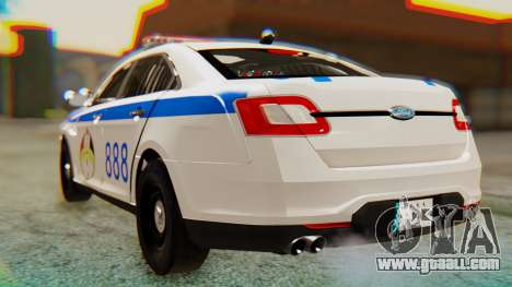 Ford Taurus Iraq Police v2 for GTA San Andreas left view