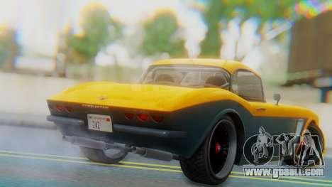 Invetero Coquette BlackFin Not Convertible for GTA San Andreas left view