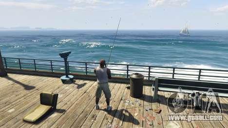GTA 5 Fishing Mod 0.2.7 BETA