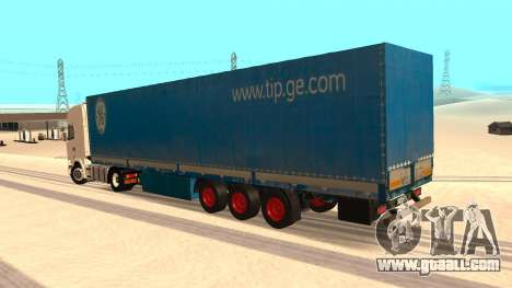 Tilt trailer for GTA San Andreas left view