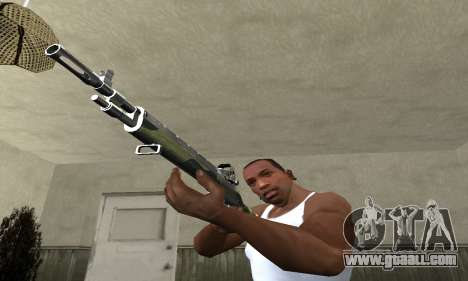 Military Rifle for GTA San Andreas second screenshot