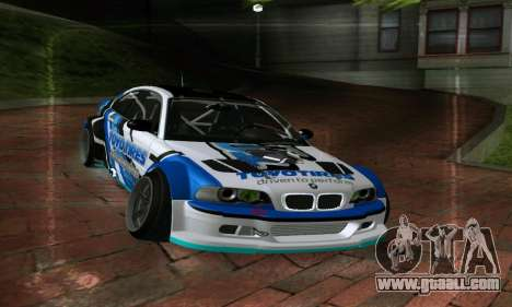 BMW M3 E46 ToyoTires GT-SHOP for GTA San Andreas right view
