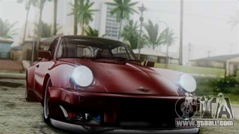 Porsche 911 Turbo (930) 1985 Kit C for GTA San Andreas engine