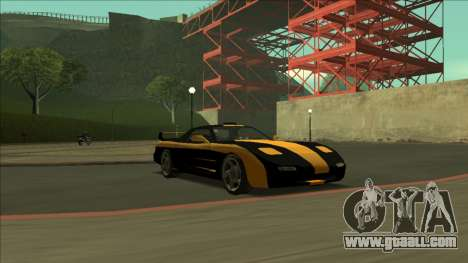 ZR-350 Road King for GTA San Andreas interior