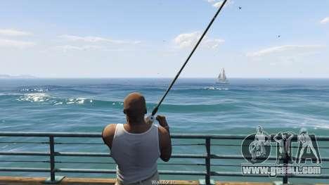GTA 5 Fishing Mod 0.2.7 BETA fifth screenshot