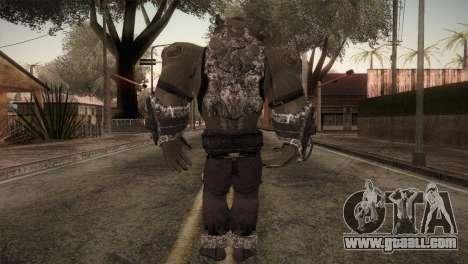 Bane Boss (Batman Arkham City) for GTA San Andreas third screenshot