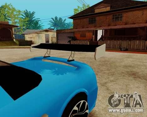 Infernus Lamborghini for GTA San Andreas side view