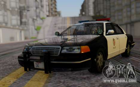 Ford Crown Victoria LSPD for GTA San Andreas