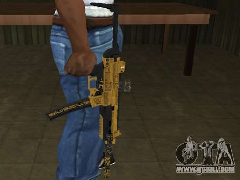 GTA 5 SMG for GTA San Andreas second screenshot